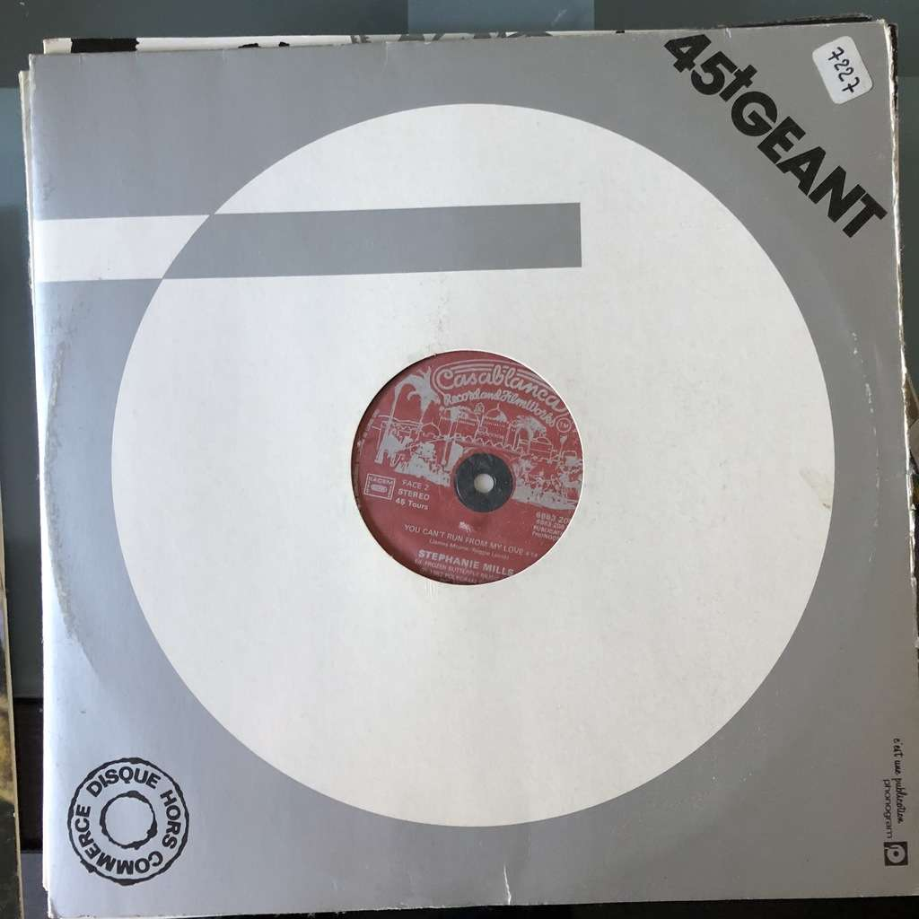 stephanie mills LAST NIGHT / YOU CAN'T RUN FROM MY LOVE 1982 FRANCE (MAXIBOXLP)