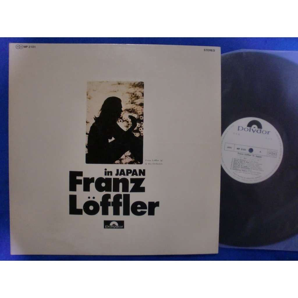 franz loffler & his orchestra in japan