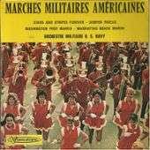 orchestre militaire US Navy marches militaires américaines : stars and stripes forever / semper fidelis / washington post march