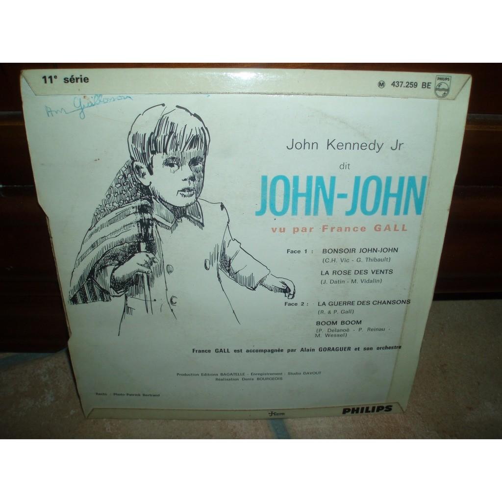 FRANCE GALL BONSOIR JOHN JOHN +3