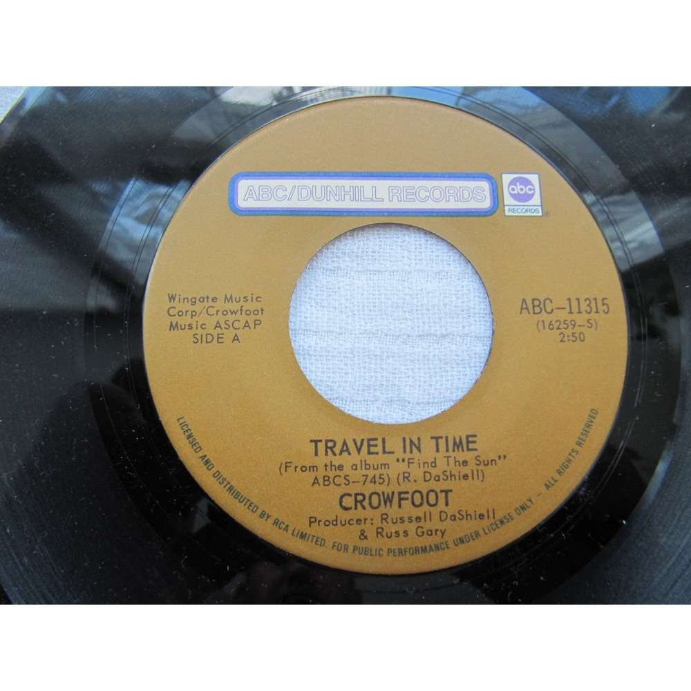Crowfoot Travel In Time / We're Doin' It Wrong