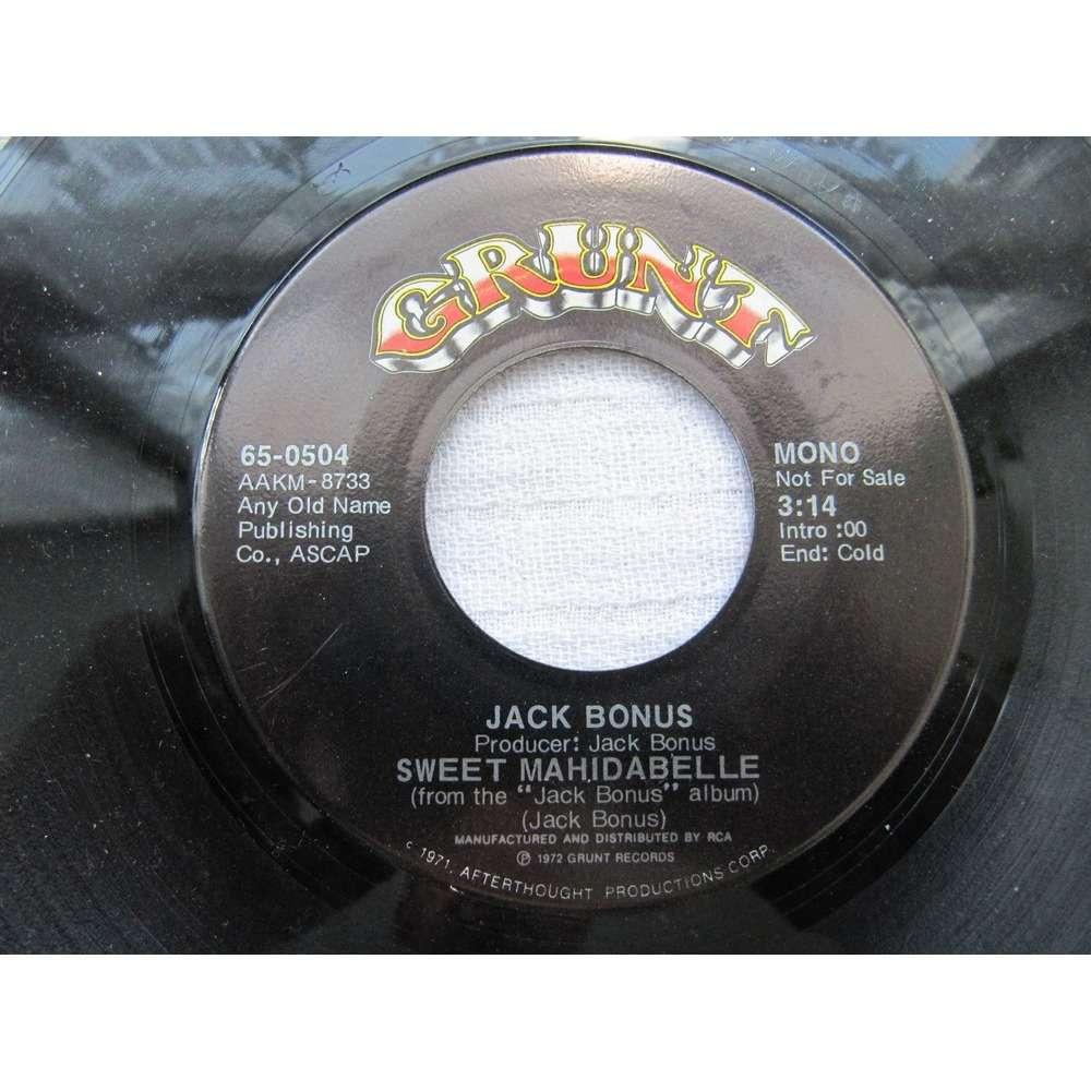 Jack Bonus - St. Louis Missouri Boy St. Louis Missouri Boy / Sweet Mahidabelle