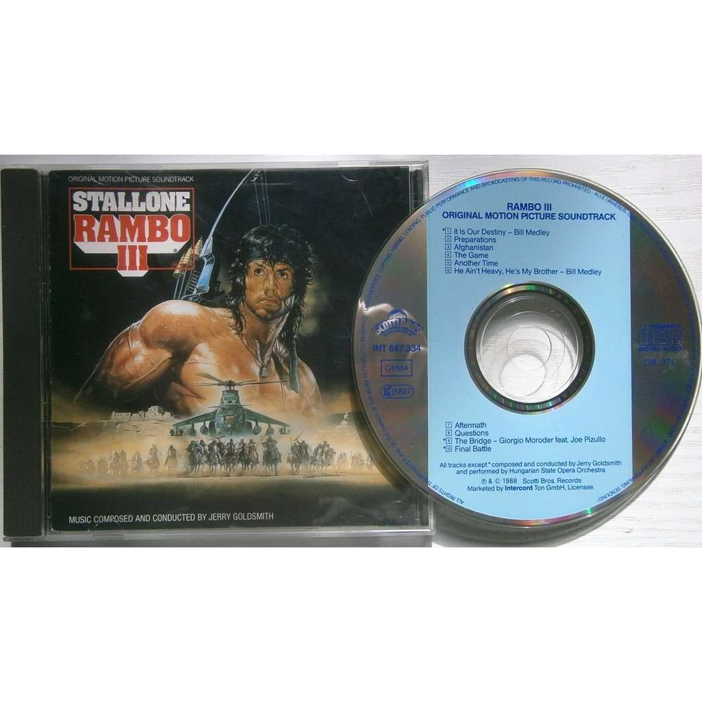 jerry goldsmith rambo III
