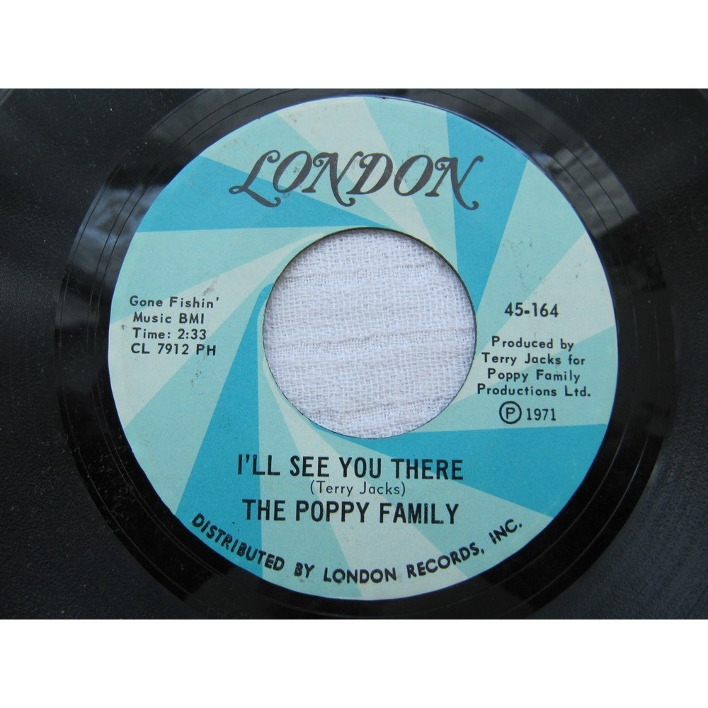 The Poppy Family - No Good To Cry No Good To Cry / I'll See You There