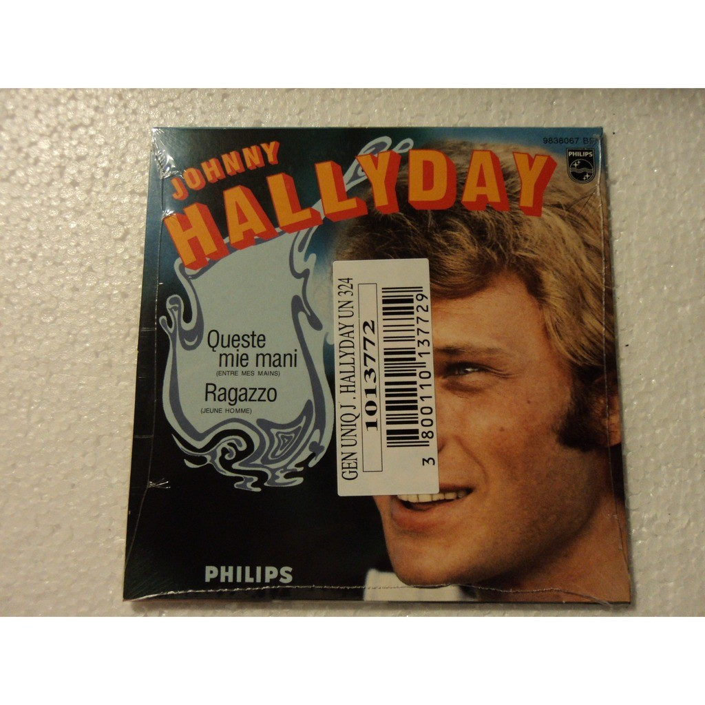 Johnny Hallyday-CD 2 titres Queste mie Queste mie mani