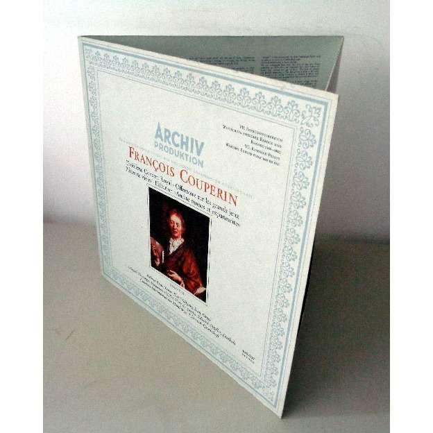 AUGUST WENZINGER & HOMAS DRANDIS & HELMUT KREBS COUPERIN Troisième concert royal - Offertoire sur les grands jeux - Pièces de violes - Elévation