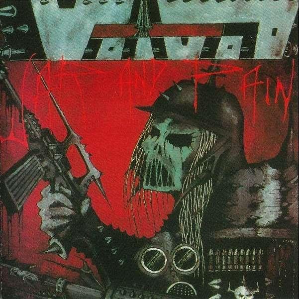 VOIVOD War And Pain. Black Vinyl