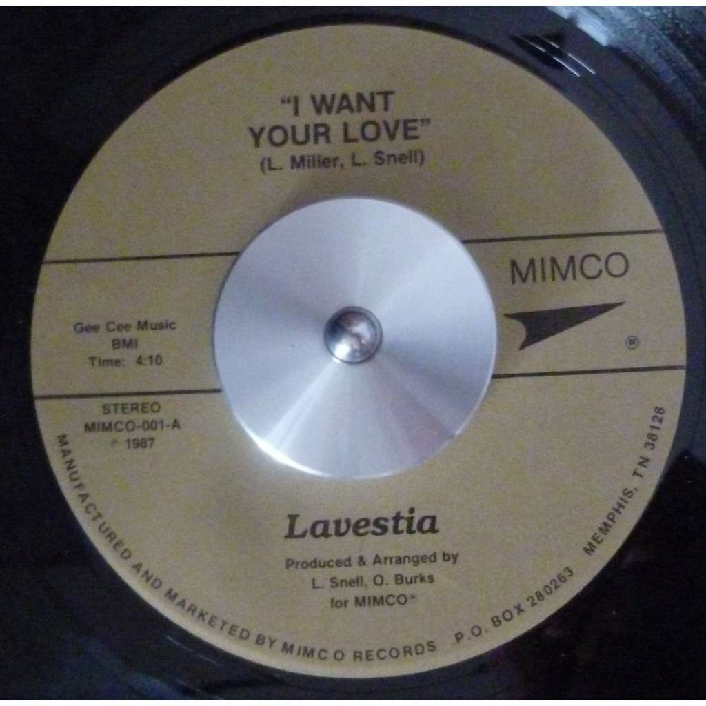 lavestia i want your love / will you still love me tomorrow