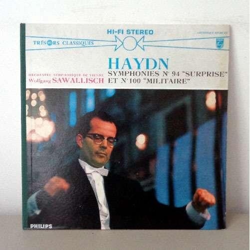 WOLFGANG SAWALLISCH HAYDN symphonies n°94 & 100