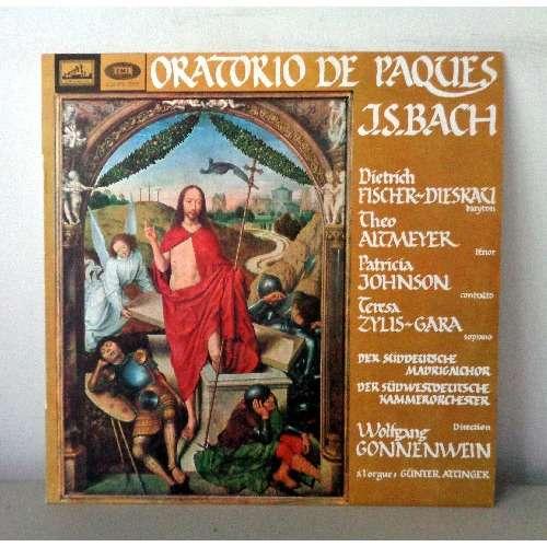 DIETRICH FISCHER DIESKAU & GYORGY TEREBESI JS BACH oratorio de paques