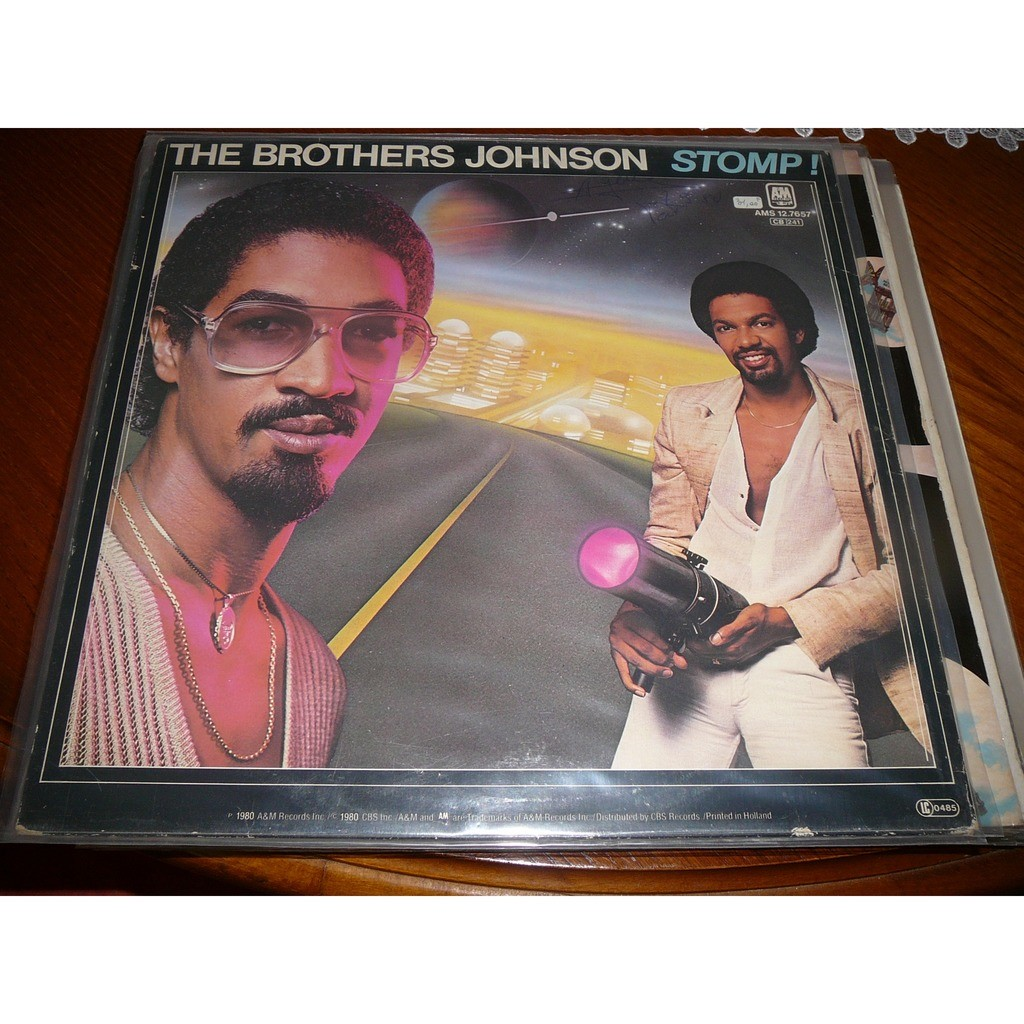 BROTHERS JOHNSON stomp ! / let's swing