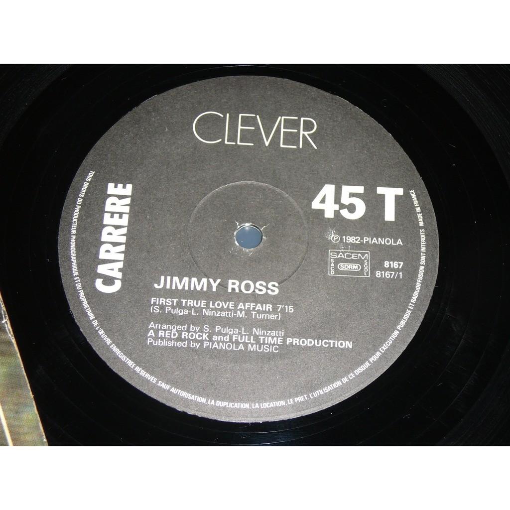 jimmy ross first true love affair