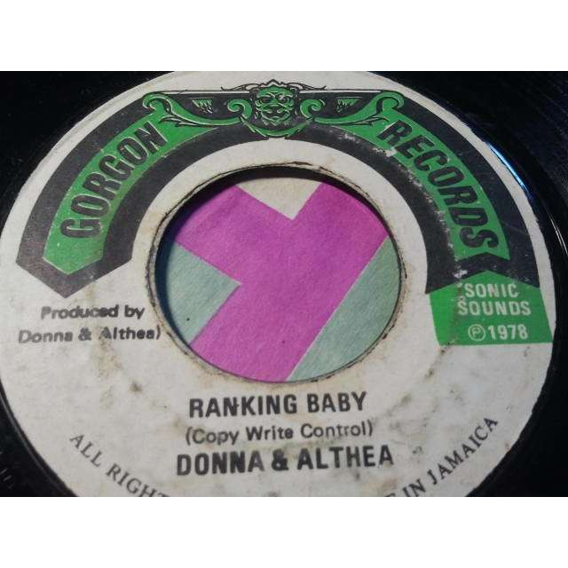 Donna & Althea  Ranking Baby ORIG.