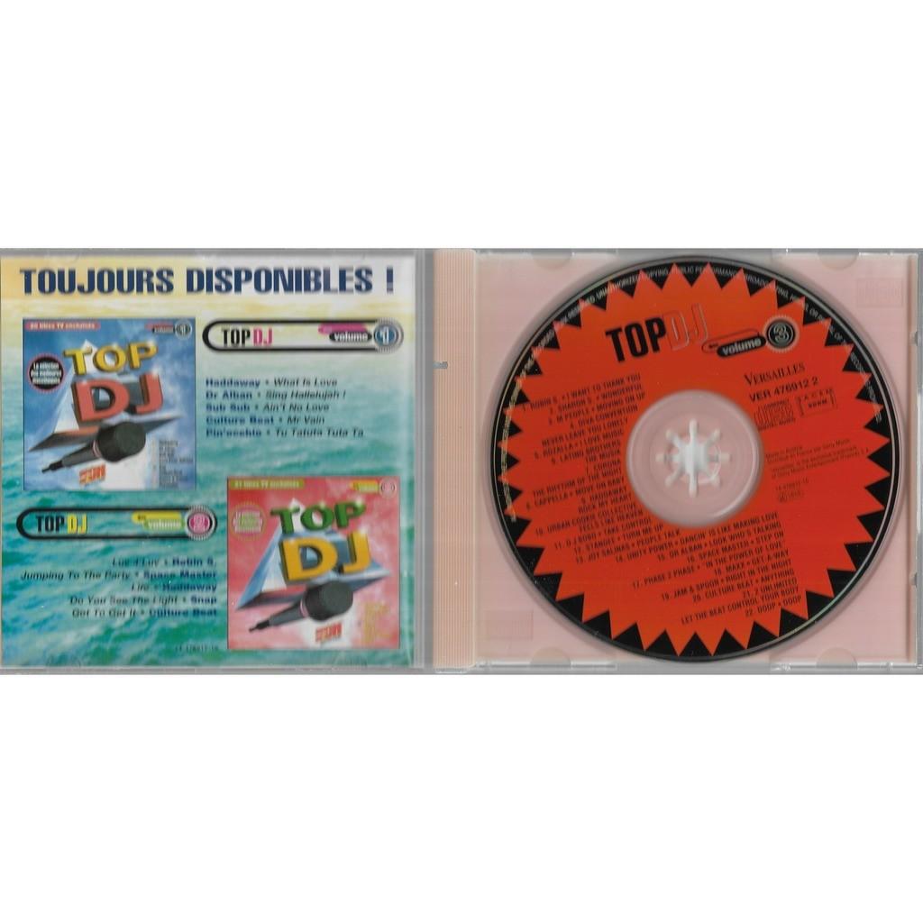 divers artistes - various artist Top DJ Volume 3
