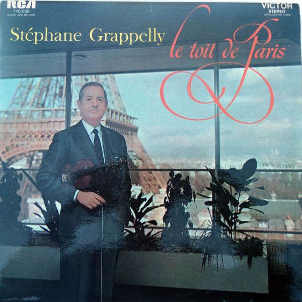 stéphane grappelli Le toit de Paris