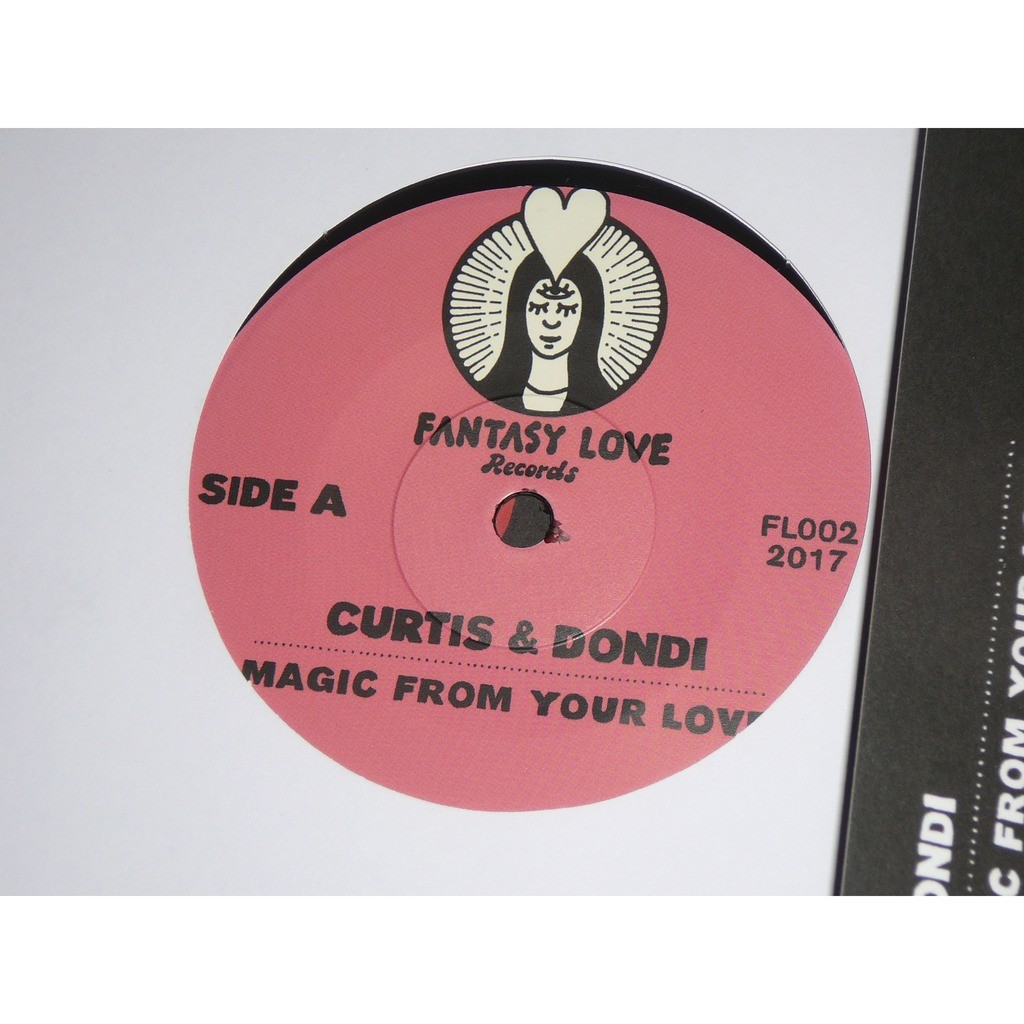 curtis & dondi magic from our love / don't be afraid