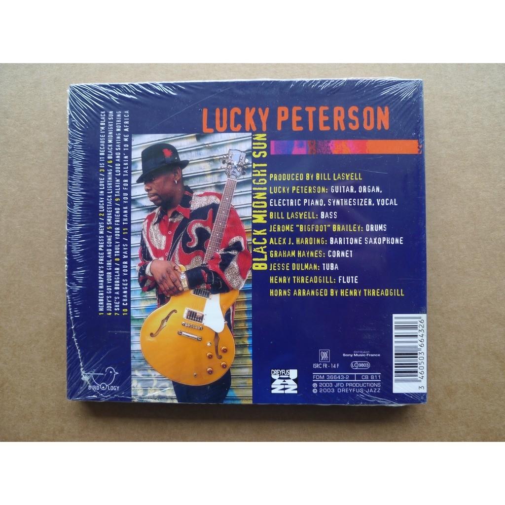 lucky peterson black midnight sun