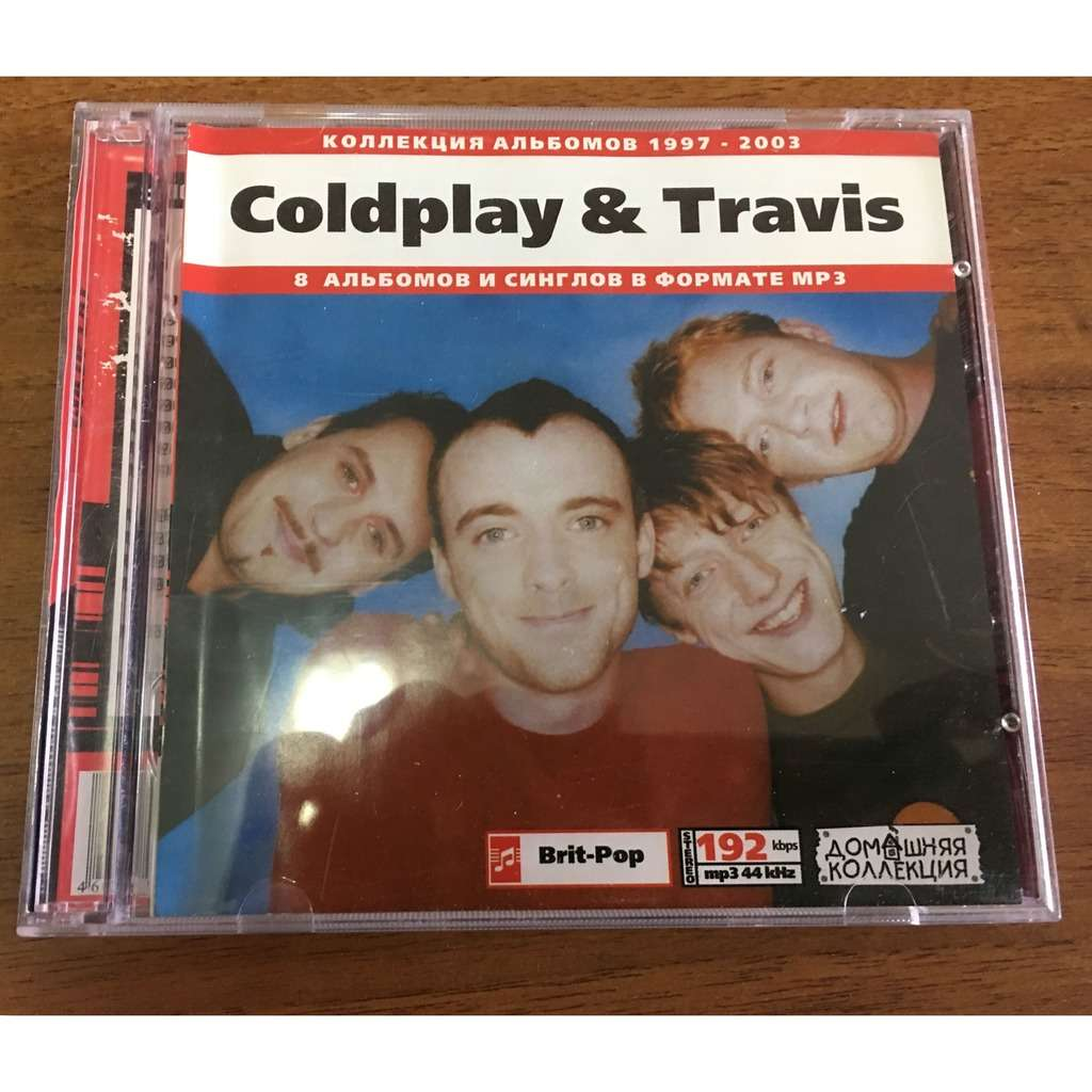 coldplay & travis MP3 Collection 8 Albums