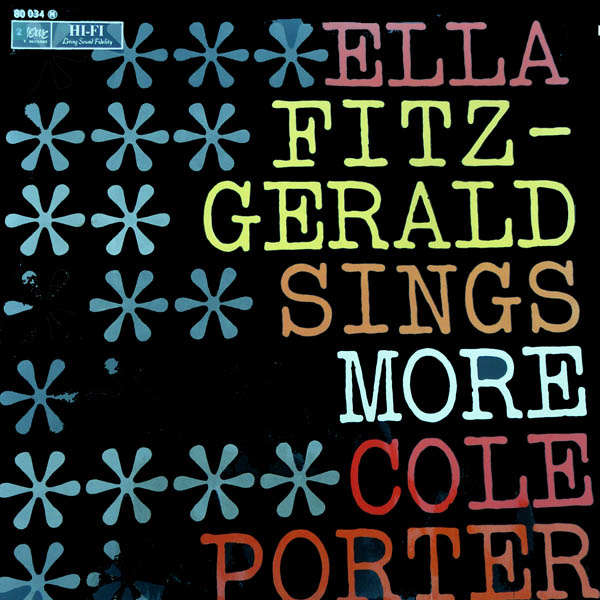 Ella Fitzgerald sings more Cole Porter