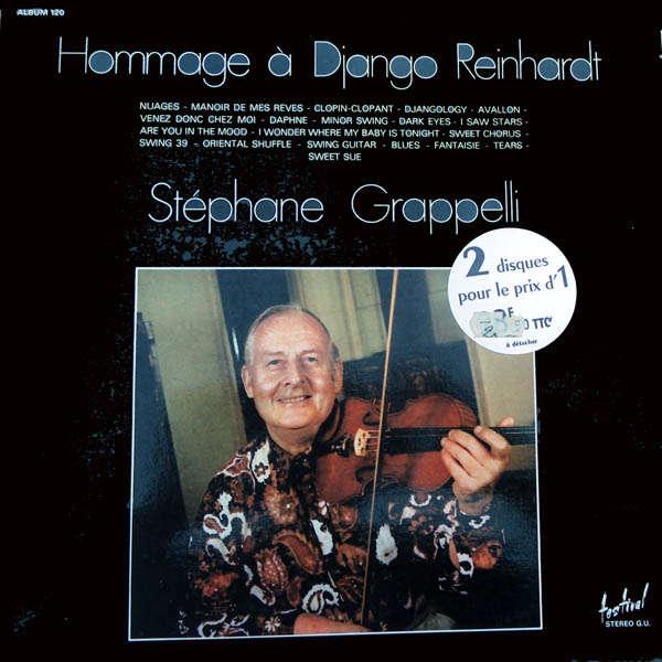 stéphane grappelli Hommage à Django Reinhardt