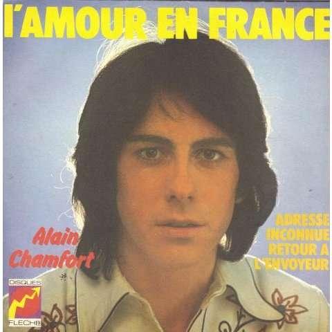Chamfort Alain / François Claude L'amour en France