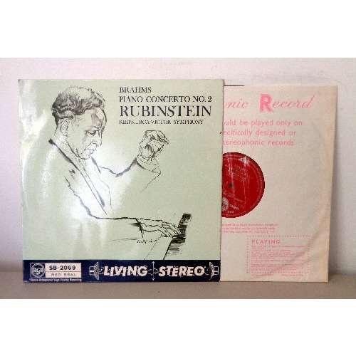 ARTUR RUBINSTEIN & JOSEF KRIPS BRAHMS Piano concerto n°2, opus 83