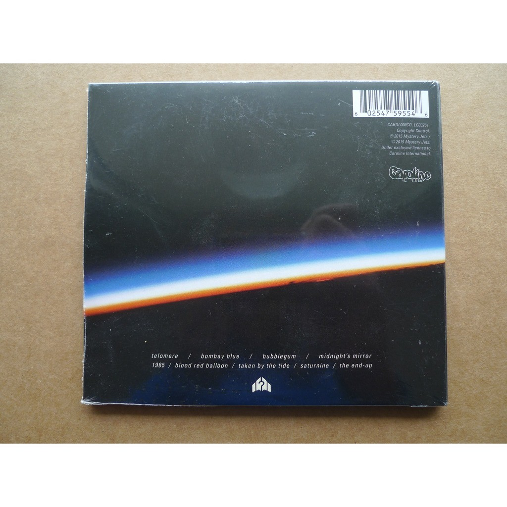 mystery jets curve of the earth
