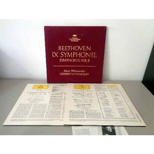 HERBERT VON KARAJAN BEETHOVEN Symphonies n°8 & 9