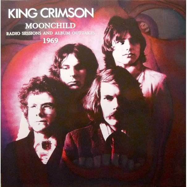 King Crimson Moonchild Radio Sessions And Album Outtakes 1969 (lp) Ltd Edit Gatefold Sleeve -E.U