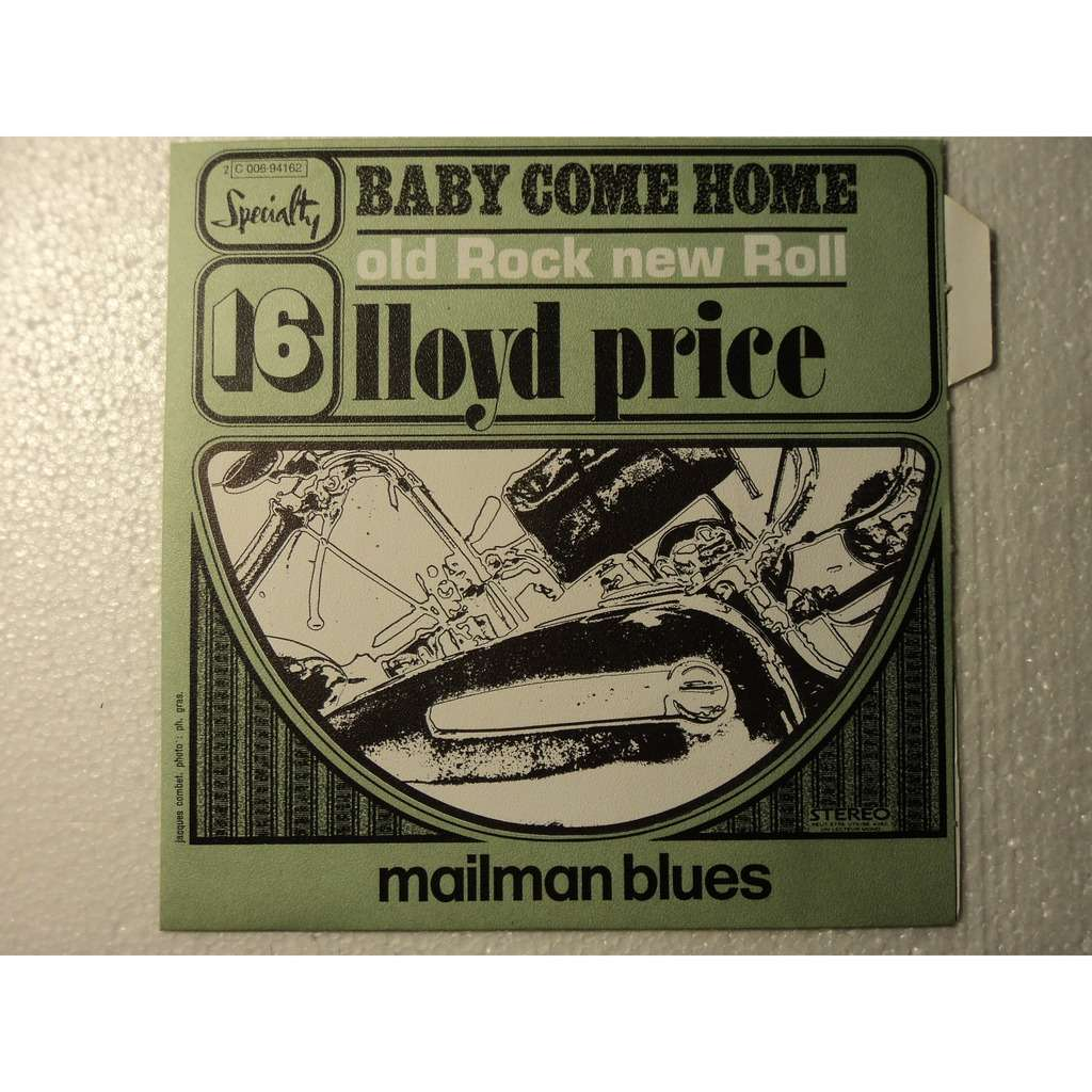 LLOYD PRICE baby come home - mailman blues