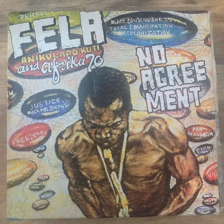 No Agreement By Fela Anikulapo Kuti The Africa 70 Lp With