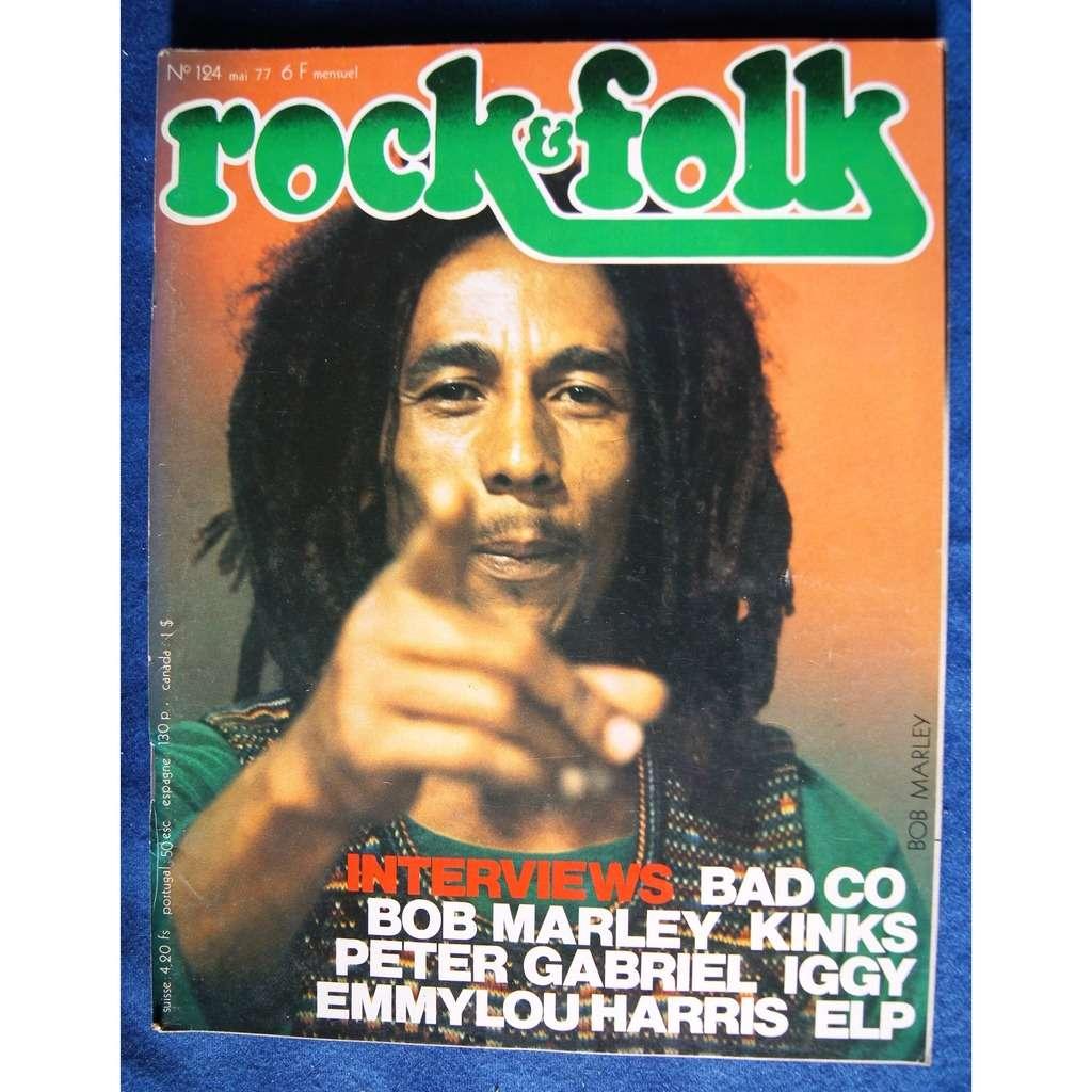 bob marley rock & folk N° 124 1977