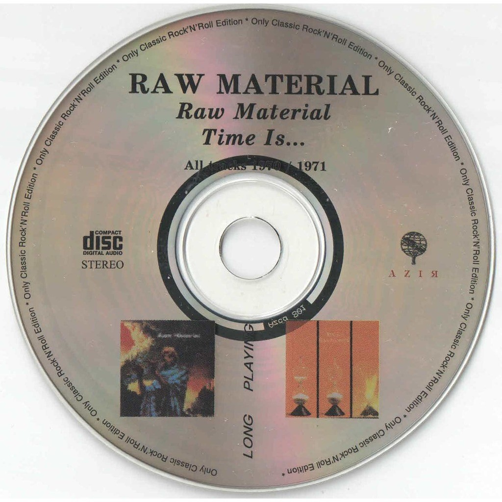 raw material Raw Material / Time Is...