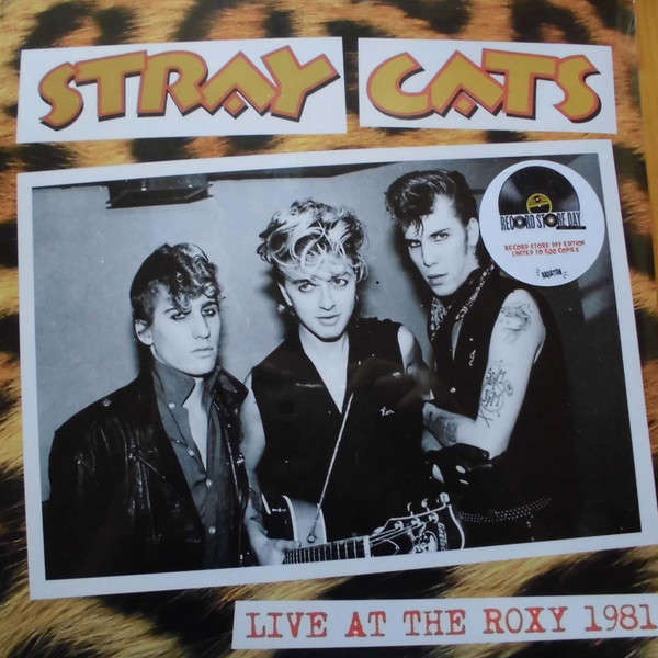 Stray Cats Live At The Roxy 1981 (lp) Ltd Edit Rsd -Italy