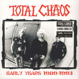 Total Chaos Early Years 1989-1993 (lp) Ltd Edit Rsd -Italy