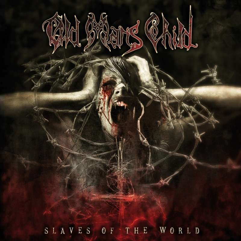 OLD MAN'S CHILD Slaves of the World. Red Vinyl