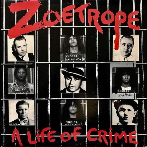 ZOETROPE A Life of Crime. Red Vinyl
