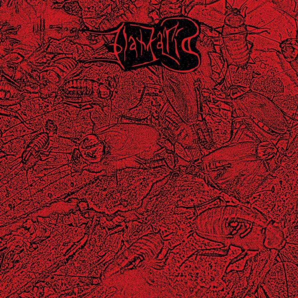 BLATTARIA Blattaria. Red Marble Vinyl