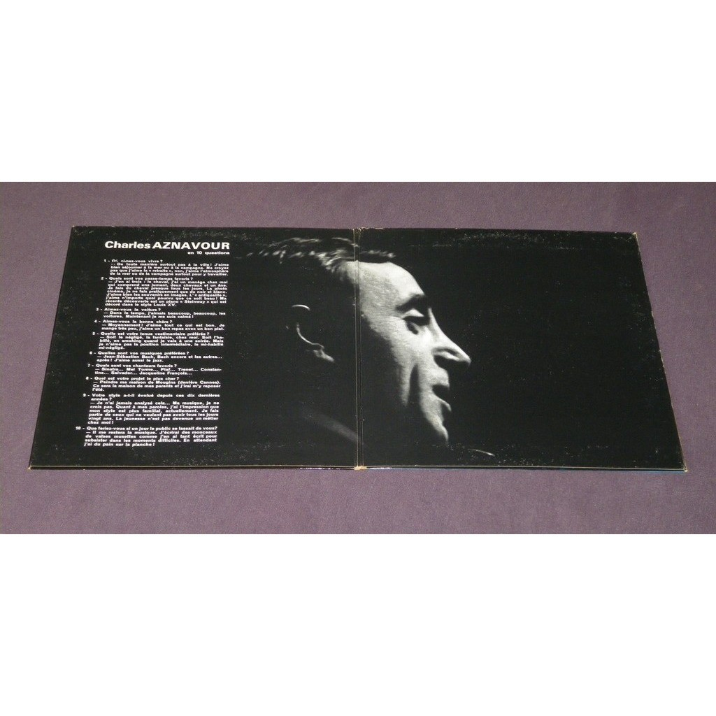 charles aznavour Charles Aznavour Chante En Multiphonie Stéréo - Album No 2