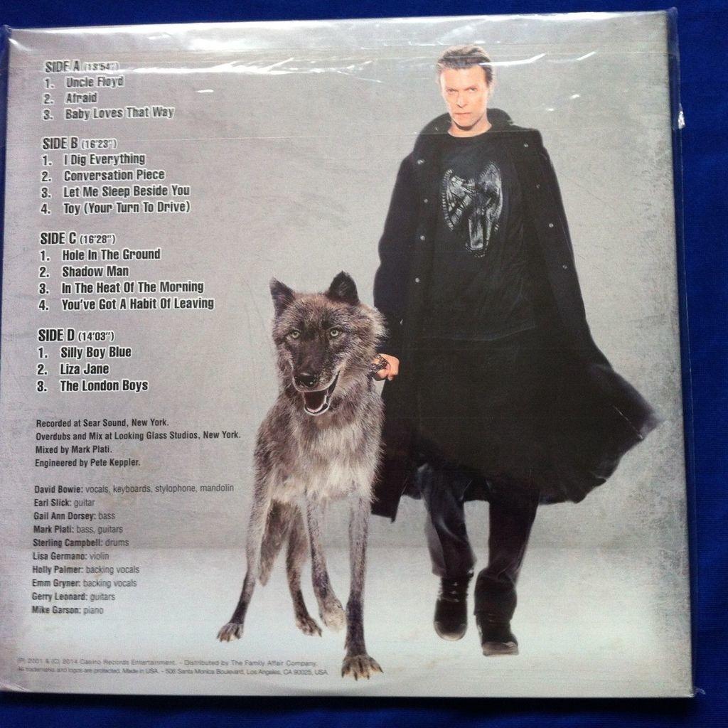 DAVID BOWIE TOY - THE LOST ALBUM 2LP