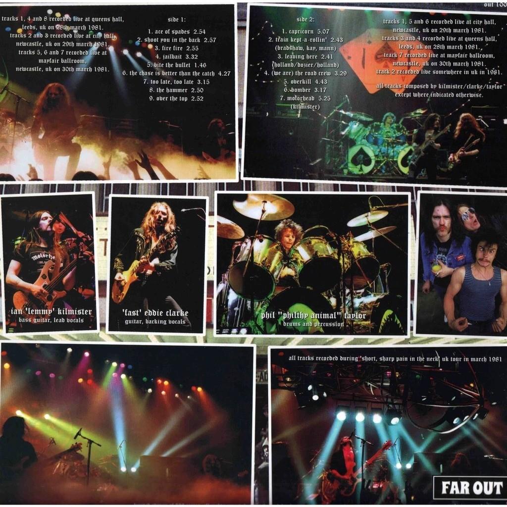 MOTÖRHEAD uk tour 1981 - the alternate 'no sleep 'til
