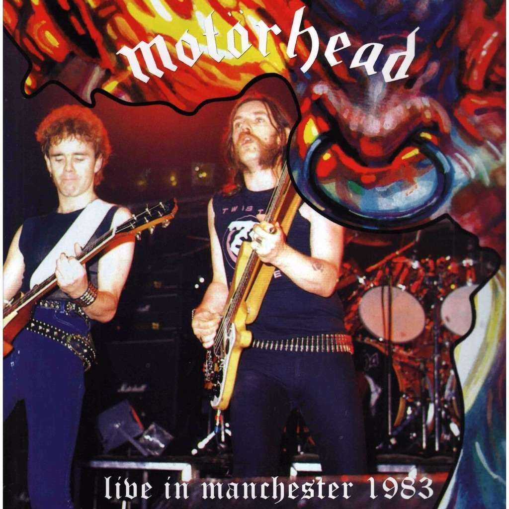 Motörhead Live In Manchester 1983 (lp) Ltd Edit Gatefold Sleeve -E.U