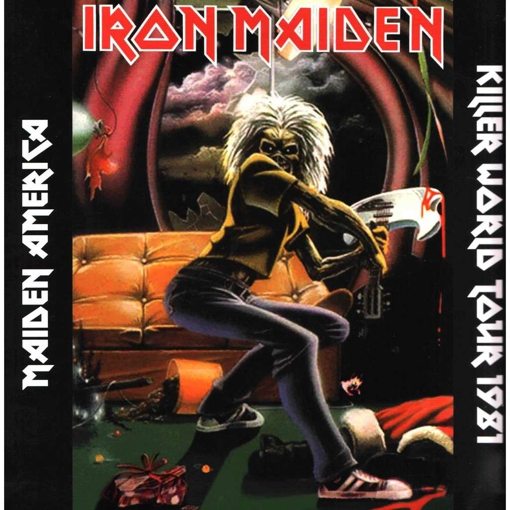 Iron Maiden Maiden America - Killer World Tour 1981 (lp) Ltd Edit Gatefold Sleeve -E.U