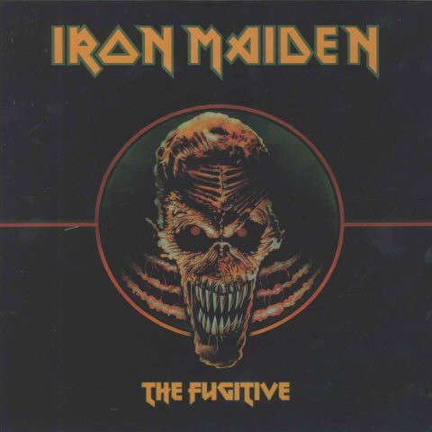 Iron Maiden ‎ The Fugitive (lp) Ltd Edit -Asia