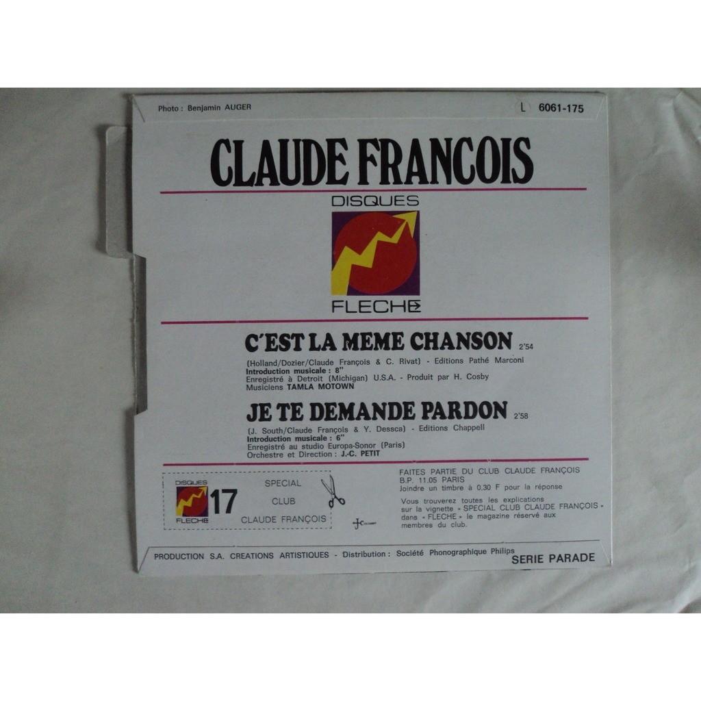 Francois Claude C'est la même chanson
