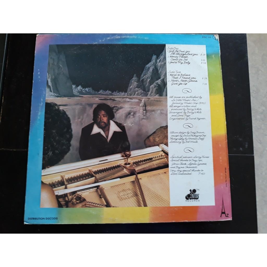 Barry White - Stone Gon' (LP, Album) Barry White - Stone Gon' (LP, Album)