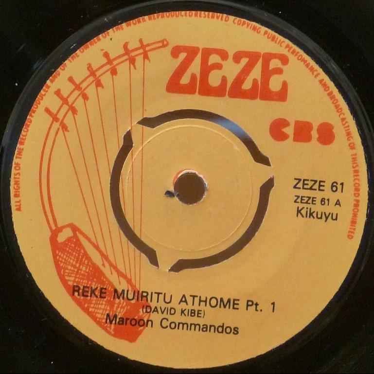 MAROON COMMANDOS Reke muiritu athome part 1 & 2