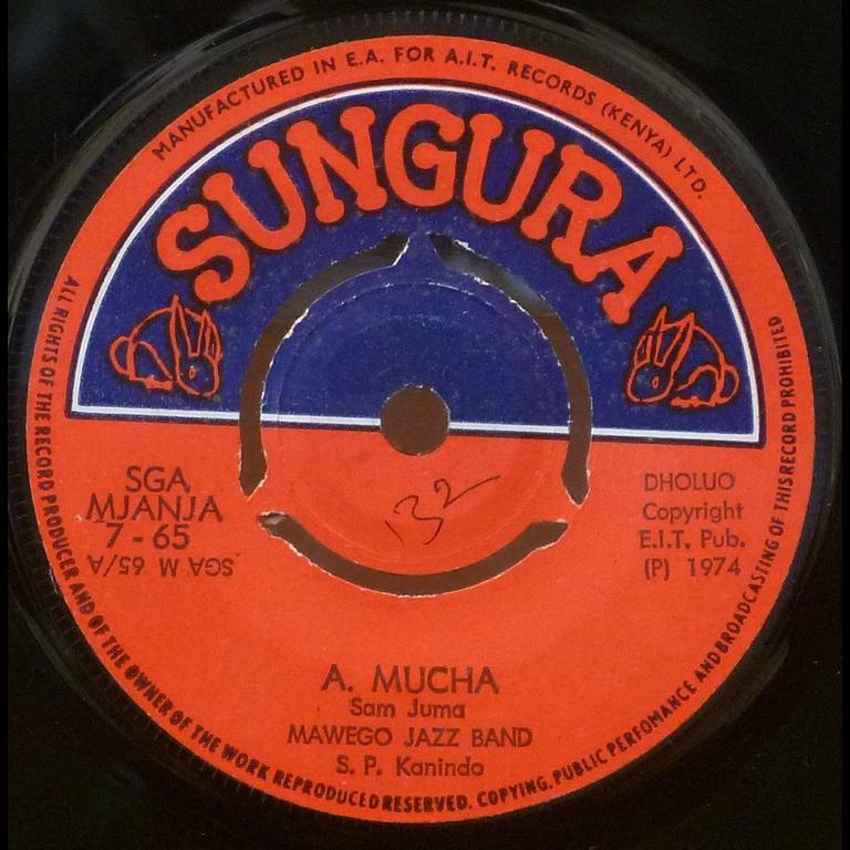 MAWEGO JAZZ BAND A.Mucha / Nyaoke Abuoga