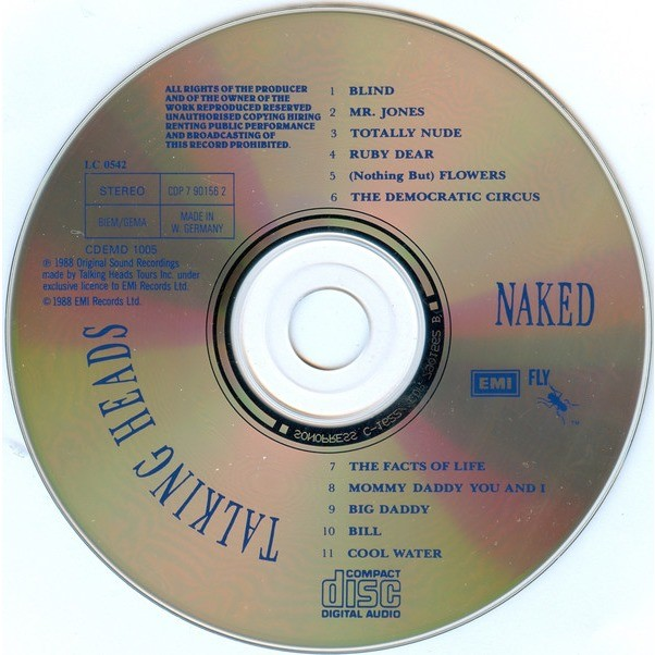 Talking Heads Naked