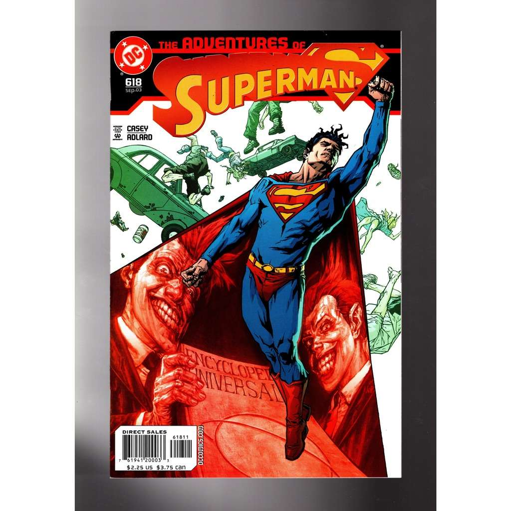 SUPERMAN , ADVENTURES of 618
